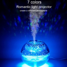 Colorful Humidifier LED Projection Light USB Crystal Night Light Projection Lamp