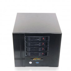 NAS Server Chassis IPFS Miner 4-bay Hard Disk Housing for Power Supply Unit Mining PSU for Filecoin