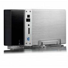 "3.5"" External Hard Drive HDD Enclosure 300Mbps USB 3.0 Wi-Fi Streaming Server &USB WiFi Storage RJ45"