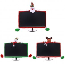 Computer LCD Monitor Border Cover Screen Edge Protect Christmas Decorations