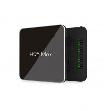 Set Top Box 4G+64G Android 8.1 TV Box Support 4K 3D H.265 Wifi Signal BT LAN H96Max X2
