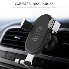 Qi Wireless Car Charger Air Vent Mount Holder For Samsung S9 iPhone X XS MAX XR BQ001