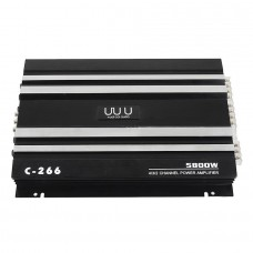 5800W C-266 RMS 4/3/2 Channel Powerful Car Amplifier Audio Power Stereo Amp 4Ohm