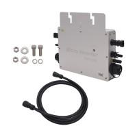 600W MPPT Solar Grid Tie Micro Inverter with Wireless Communication IP65 Pure Sine Wave Power Inverter