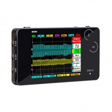 DS212 Mini Oscilloscope Portable Handheld Bandwidth 1MHz Sampling Rate 10MSa/s Thumb Wheel