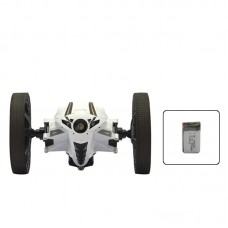 Bounce Car RC Jumping Car with Camera Flexible Wheel Rotation LED Night Light 2.4GHz for Kids Gift RH803