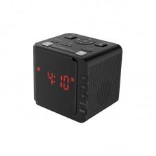 LED Radio Clock Digital AM FM Alarm Large Display USB Dual Snooze Alarm