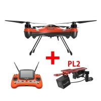 Swellpro Splash Drone 3 Waterproof UAV Drone + PL2 Waterproof Payload Release Mechanism With HD FPV Camera