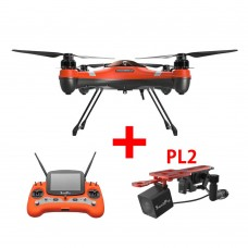 Swellpro Splash Drone 3 Waterproof UAV Drone + PL2 Waterproof Payload Release Mechanism With HD FPV Camera