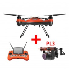 Swellpro Splash Drone 3 Waterproof UAV FPV Drone + PL3 Payload Release with Stablization Gimbal and 4K Camera