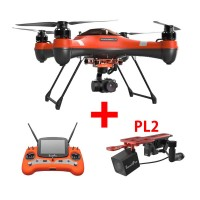 Swellpro Splash Drone 3 Waterproof UAV Drone + PL2 Waterproof Payload Release and 3 Axis Gimbal