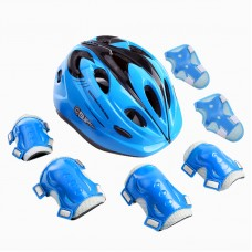 7 PCS Roller Skating Protective Gear Kid Sport Protect Set Balance Bike Sports Helmet