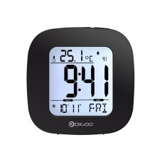 Electronic Weather Alarm Digital Temperature Clock Thermometer Senor LCD Backlight DG-C1