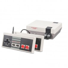 Video Game Console Gaming Player Built-in 620 Classic Games Dual Gamepad with 2 Buttons for NES