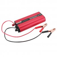 2000W Solar Power Inverter DC 12V to AC 220V Car Power Inverter LCD Screen Modified Sine Wave