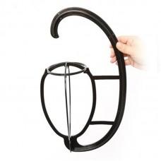 Hanging Wig Stand Plastic Wig Holder Dryer Holder Detachable for Long Short Wigs Cap