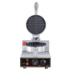 Waffle Maker Iron Baker Machine Commercial Nonstick Electric Round Mini