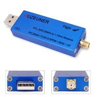 Receiver 0 1MHz-1 7GHz TCXO UHF VHF HF RTL SDR USB Tuner RTL2832U+