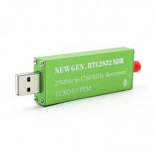 25MHz to 1760MHz RTL2832U + R828 RTL-SDR Receiver + 0.5PPM TCXO Ham radio