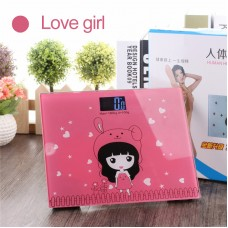 Health Scale Body Weight Scale Back Light Night Vision Home Cartoon Body Scale Electronic Mini
