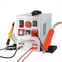 709AD 110V Pulse Spot Welder Battery Welding Soldering Machine 3in1 for 18650 with 70B Welding Pen