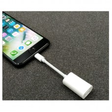 2 In 1 Dual Lighting Adapter for iPhone Headphone Adapter for iPhone