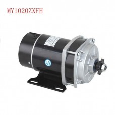 Permanent Magnet Electric Motor for Bicycle DC Brush Motor MY1020ZXFH 450W 48V for E-Tricycle