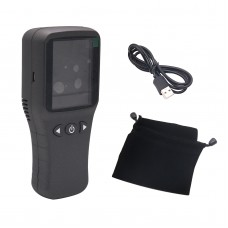 6 in1 Air quality Detector Formaldehyde Detector pm2.5 Tester HCHO PM2.5 PM10 Gas Analyzer Tool Air Quality Detector