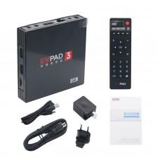 EVPAD3 TV Box 電視機頂盒 16G+2G 分辨率5760x3240 八核 64Bit  雙頻WiFi  杜比音效 6K畫質 藍牙4.1