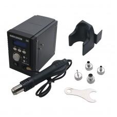 220V Hot Air Rework Station Hot Air Soldering Station Heat Gun 700W Digital Display Quick 2008