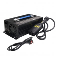 36V 18A Golf Cart Battery Charger Input 220V with Powerwise Cable D Style for EZ-GO