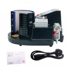 Sublimation Mug Heat Press Machine Pneumatic Auto Type ST-110 Bright Black