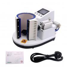 Sublimation Mug Heat Press Machine Pneumatic Auto Type ST-110 Silver White