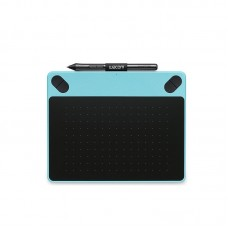 Graphics Tablet Drawing Tablet 1024 Pressure Levels CTL-490 Blue