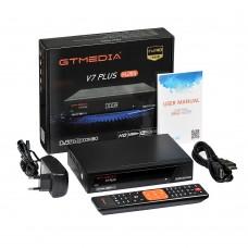 DVB-S2 DVB-T2 Satellite TV Receiver 1280x1024P Support H.265 GTMEDIA V7 PLUS