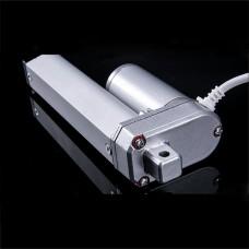 Electric Linear Actuator 12/24V DC Motor 200mm Stroke Linear Motor Controller 800N 18mm/s