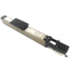 60mm Ball Screw Linear Guide Enclosed Electric Slide Table Cross Rail+57 Stepper Motor 100-1000mm