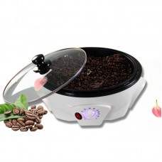 Home Coffee Roaster Machine Dried Fruit Adjustable Temperature Non-Stick Coating Capacity 800g