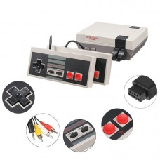 Video Game Console Built-in 500 Classic Games Dual Gamepad w/2 Button + AV Cable Color Box
