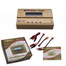 HTRC 80W B6V2 RC Battery Balance Charger Car Helicopter Balance Lipo NIMH Charger Without Adapter