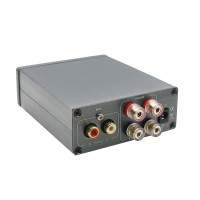 Breeze Audio HIFI Level 2 stereo Digital Power Amplifier TPA3116 Version Material 50WX2  with High Bass Adjustment