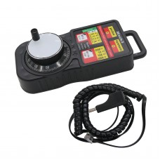 CNC MACH3 Wireless Electronic Handwheel 4-Axis Manual Controller USB Handle Pulse Generator