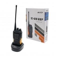 HYT TC-610 TC610 UHF Radio 5 Watt 16 Channel Two Way 2-way Radio UHF Walkie Talkie