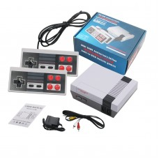Video Game Console Gaming Player Built-in 620 Classic Games Dual Gamepad with 4 Buttons for NES