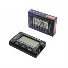 Battery Capacity Checker RC Battery Tester Electricity Voltage with Screen Display Cellmeter7 2-7S