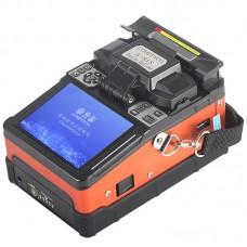 SM&MM Automatic Fusion Splicer Machine Fiber Cleaver Kit A-81S Orange
