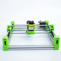 Mini Laser Engraving Machine Desktop Carving Area 17*20cm Self-Assembly Needed Color Machine-5500MW