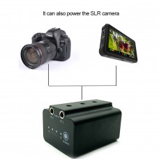 External Camera Battery Rechargeable NP-FW50 Dummy Battery for Sony SLR Cameras
