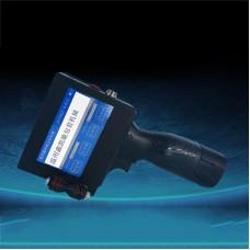 Handheld Inkjet Printer 12.7mm Print Height 6 Language Time QR Code Barcode Logo +Black Cartridge M6