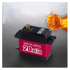 20 kg.cm High Torque Digital Servo Metal Gear 270° Robot Arm Servo for RC Robot Toys LD-27MG
